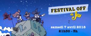 bandeau pour le festival OFF du jeu de Valence 2018