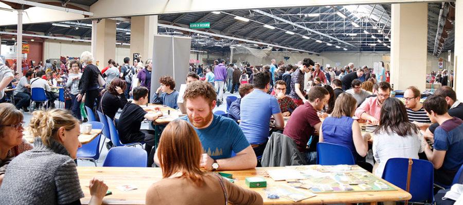jeux de société joués lors du Festival du jeu de Valence 2016