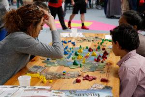 jeu de société en famille au Festival du jeu de Valence 2016
