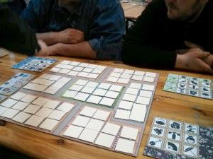 prototype joué pendant le Festival du jeu de Valence 2016