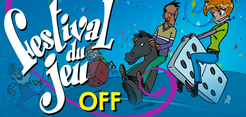 affiche du festival du jeu OFF de Valence 2016