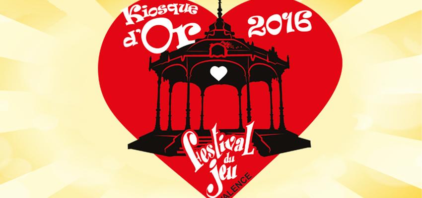 logo du prix Kiosque d'Or du Festival du jeu de Valence