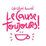 logo du café associatif Cause toujours