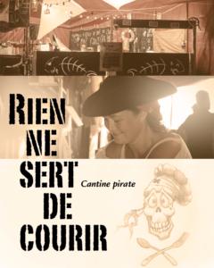 cantine pirate de l'édition 2016 du festival du jeu de Valence