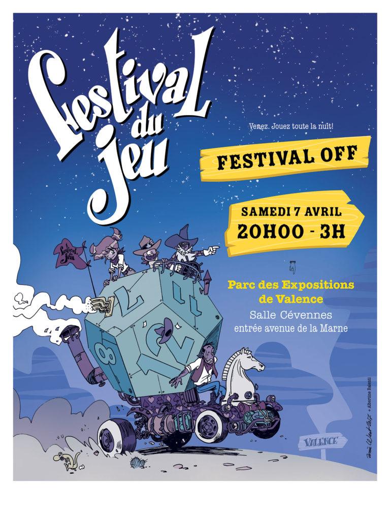 affiche du Festival OFF du jeu de Valence 2018