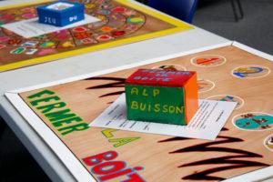 jeu réalisé par l'ALP de l'école élémentaire Buisson pour le Festival du jeu de Valence 2018