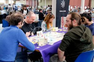 jeu sur le stand Edge pendant le Festival du jeu de Valence 2018