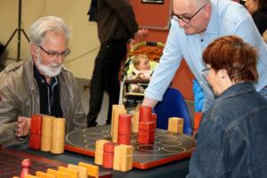 jeu en bois pendant le Festival du jeu de Valence 2018