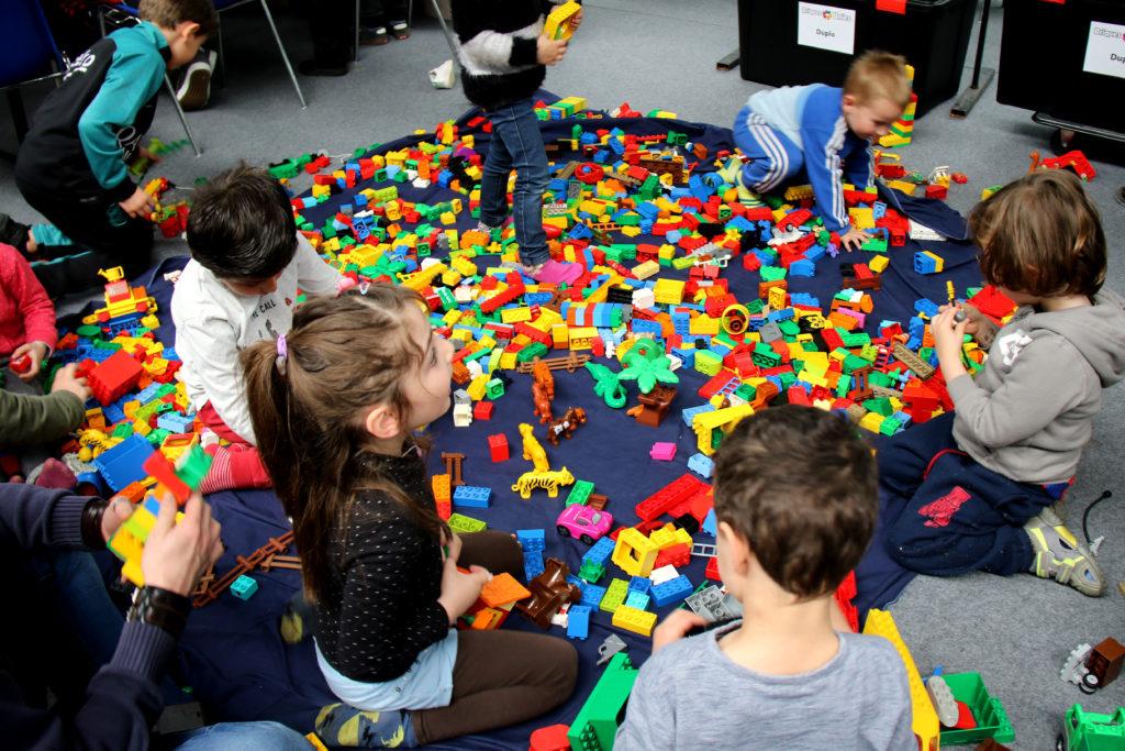 espace petite enfance 0-3 ans du Festival du jeu de Valence 2018