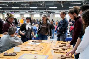 jeux en bois au Festival du jeu de Valence 2018
