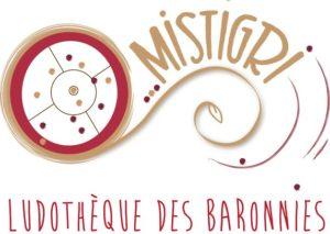 logo de la ludothèque itinérante des Baronnies Mistigri