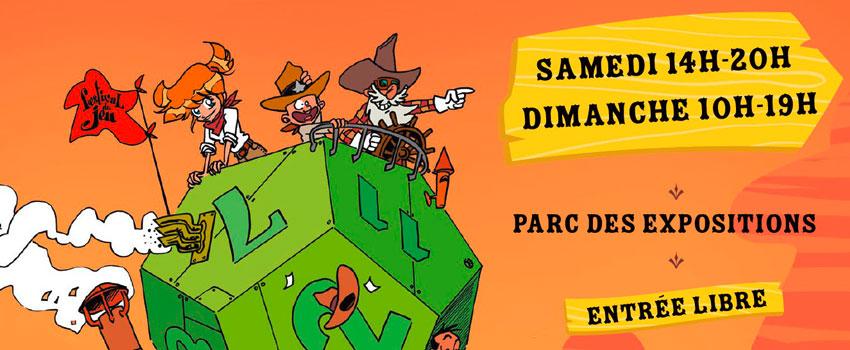 image mise en avant article nouvelle affiche du festival 2018 du jeu de Valence