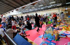 espace petite enfance du Festival du jeu de Valence