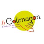logo de la ludothèque associative de Valence le Colimaçon