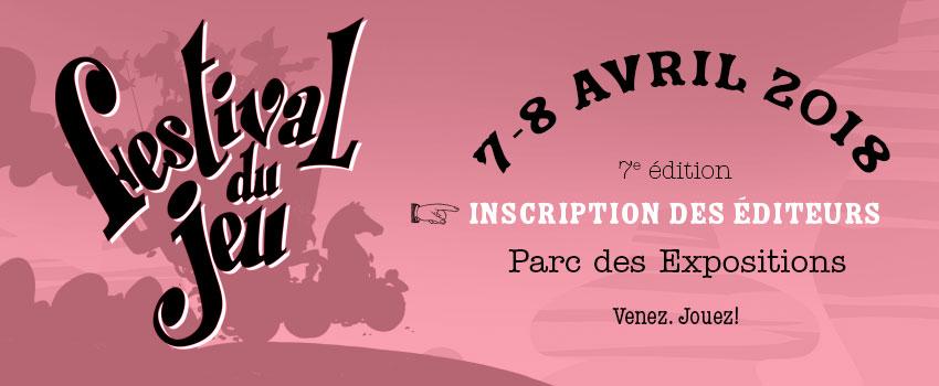 image d'en-tête inscription des éditeurs et diffuseurs au 7e festival du jeu de Valence