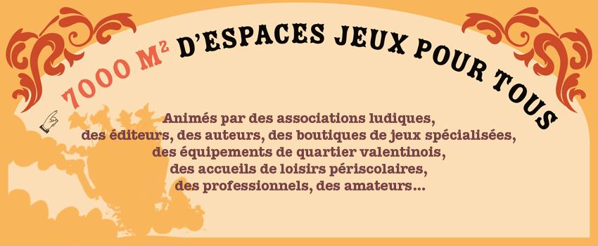 bandeau de la page programme de la 7e édition du Festival du jeu de Valence 2018