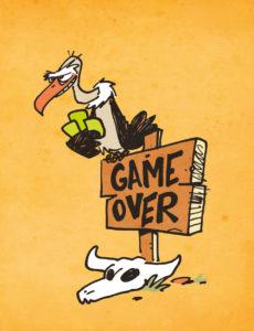 vautour dessiné par Arnu West