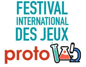 logo du Protolab du Festival international des jeux de Cannes