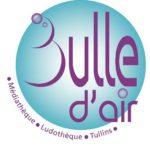 logo de Bulle d'air, la ludothèque de Tullins