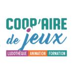 logo de Coop'aire de jeux, ludothèque associative de Die