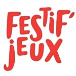 logo de Festif'jeux, journée jeux à Guilherand Granges en Ardèche