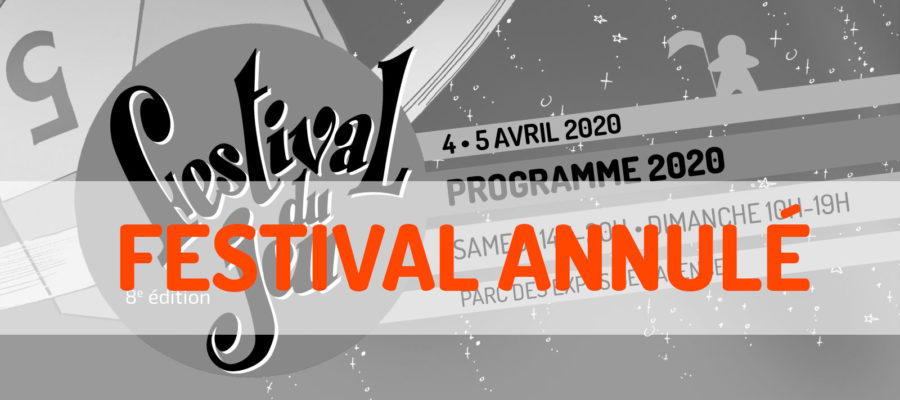 Annulation du Festival du jeu de Valence d'avril 2020