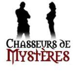 logo de Chasseurs de mystères, escape room et spectacles