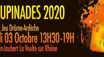 Les Turlupinades 2020, festival du jeu itinérant en Drôme Ardèche
