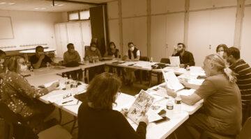 réunion du Collectif Valence joue à propos de l'édition 2022 du Festival du jeu de Valence